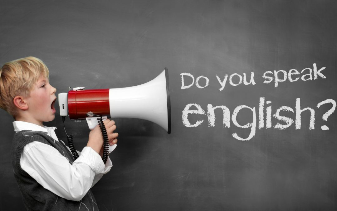 ¿Quieres hablar inglés?