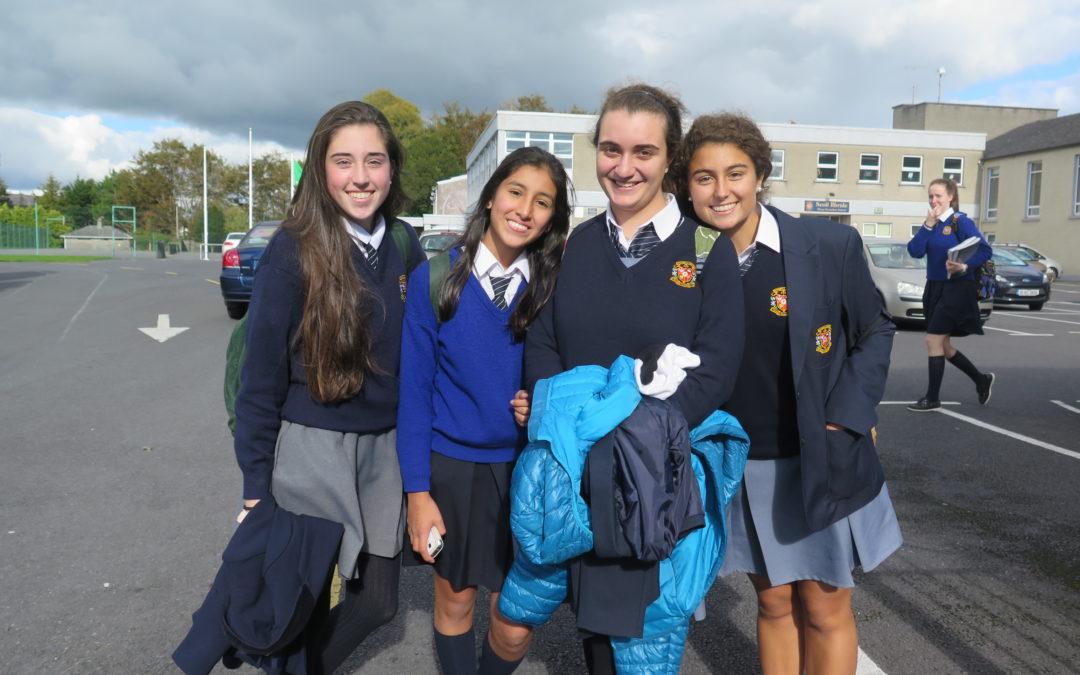 Colegio femenino en Irlanda